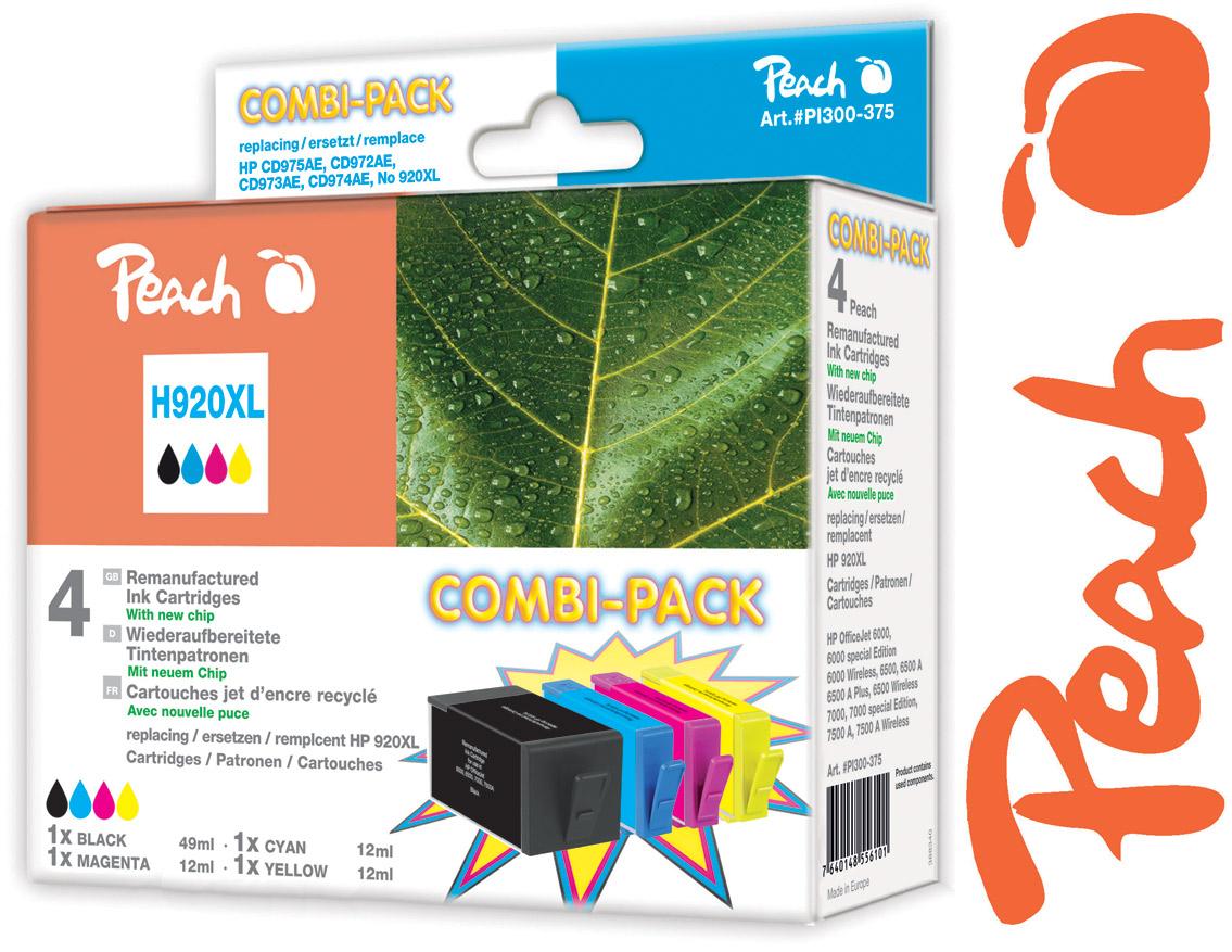 HP 920 XL Tintenpatronen von Peach