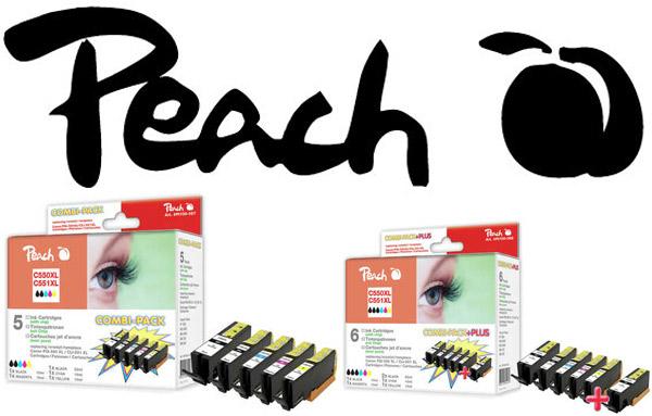 Peach PGi 550 Tintenpatronen