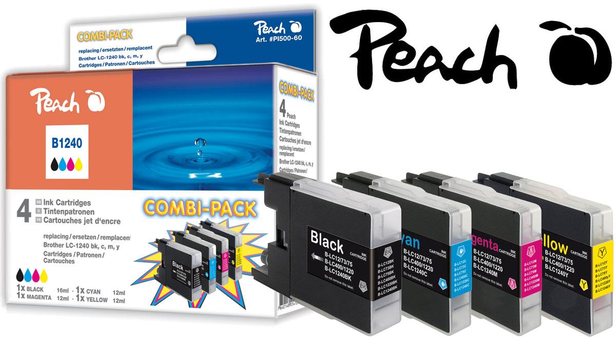 Kompatible LC-1240 Druckerpatronen von Peach