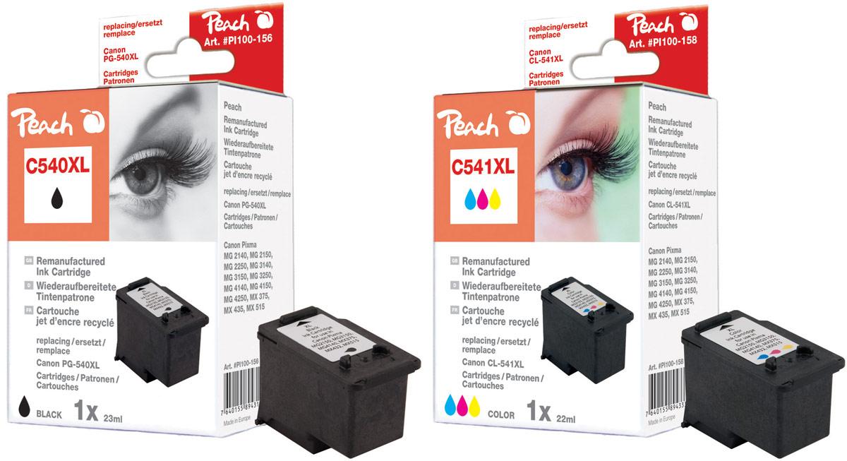 canon pg 540 tintenpatronen peach tintenpatronen toner. Black Bedroom Furniture Sets. Home Design Ideas