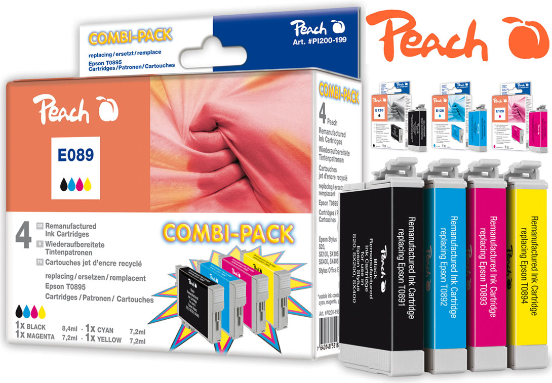 Peach Tintenpatronen Epson