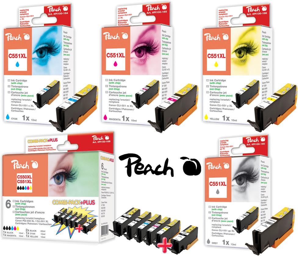 Peach Druckerpatronen Canon