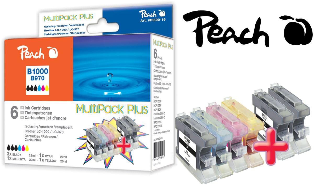 druckerpatronen multipack brother peach tintenpatronen toner. Black Bedroom Furniture Sets. Home Design Ideas