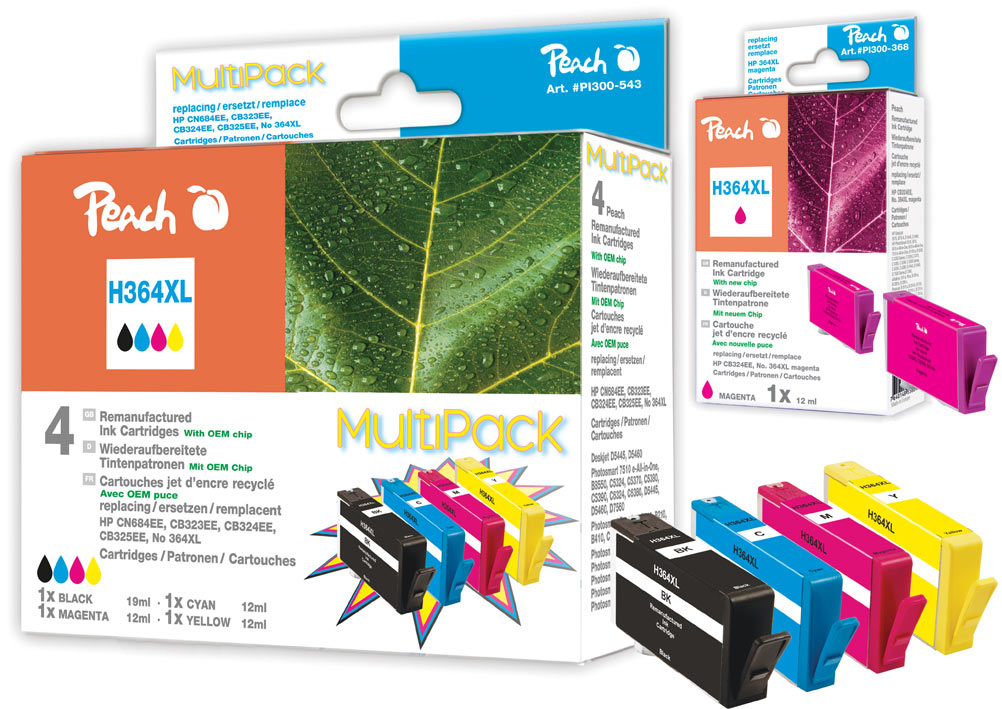 tintenpatronen multipack hp peach tintenpatronen toner. Black Bedroom Furniture Sets. Home Design Ideas