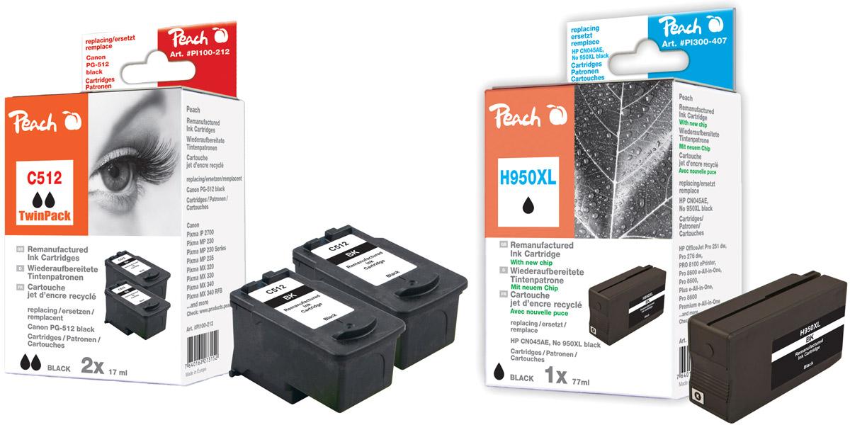 HP kompatible Druckerpatronen
