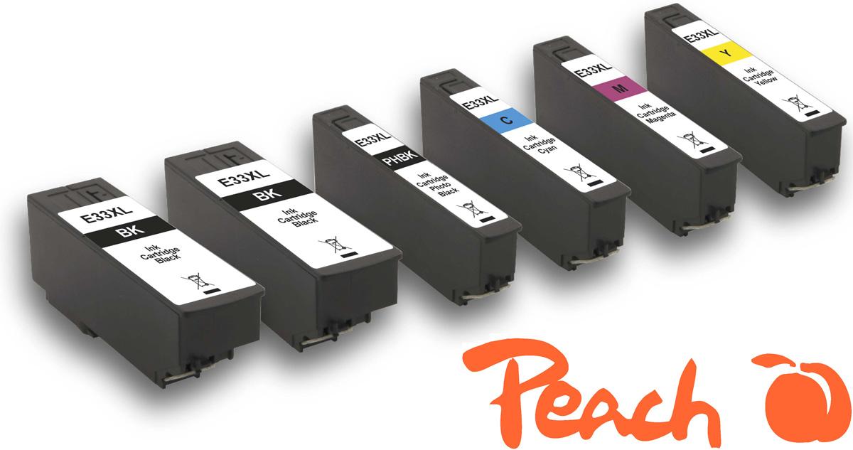 epson 33xl tintenpatronen peach tintenpatronen toner. Black Bedroom Furniture Sets. Home Design Ideas
