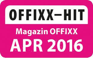 Offixx Hit Peach PA105 Ministaubsauger