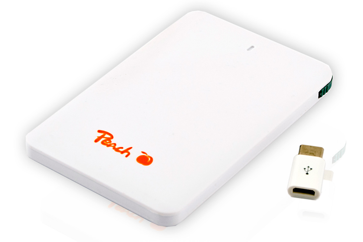 Peach Survival Powerbank