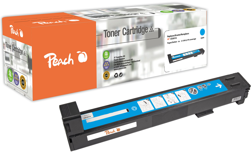 HP 824A Toner Set